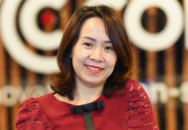 Bà Đinh Vân Trang.