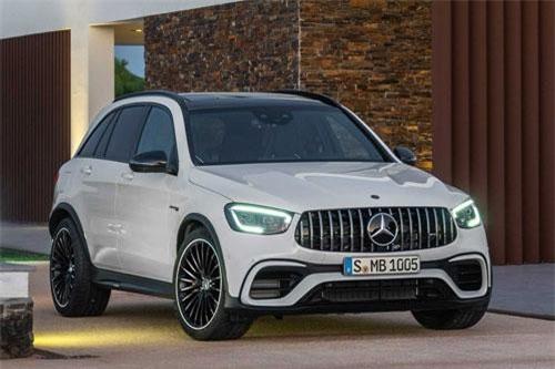 Chi tiết Mercedes-AMG GLC 63 2020: Công suất 510 mã lực, vận tốc 280 km/h