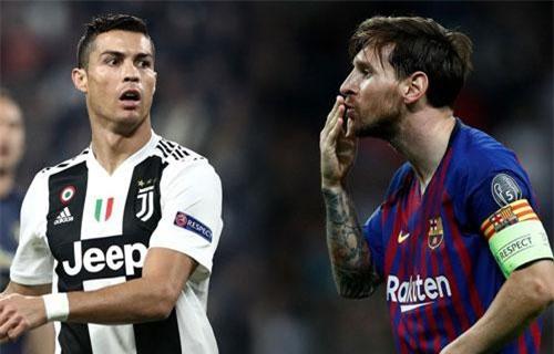 Messi vẫn xuất sắc hơn Ronaldo ở Champions League với thống kê đặc biệt