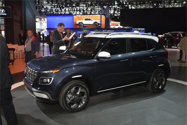 Hyundai Venue chính thức gia nhập phân khúc crossover tí hon - 1