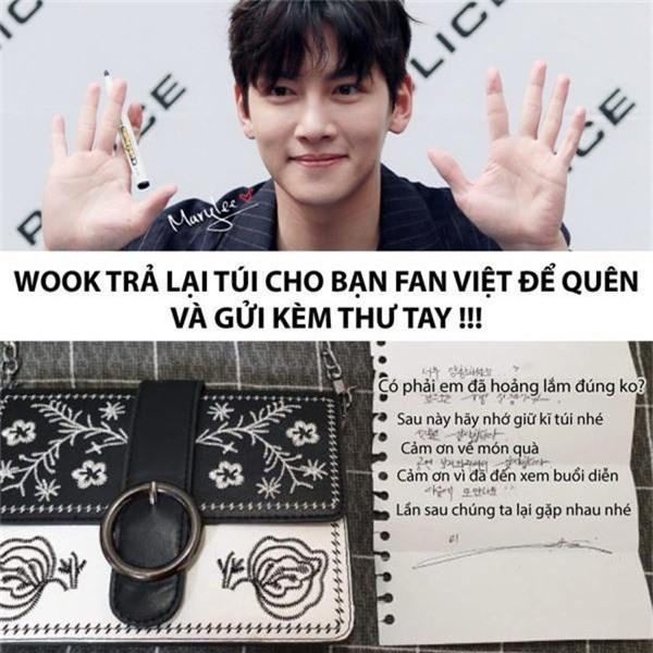 Fan girl người Việt để quên túi xách trong giỏ quà tặng Ji Chang Wook, hành động của chàng mỹ nam mới bất ngờ! - Ảnh 1.