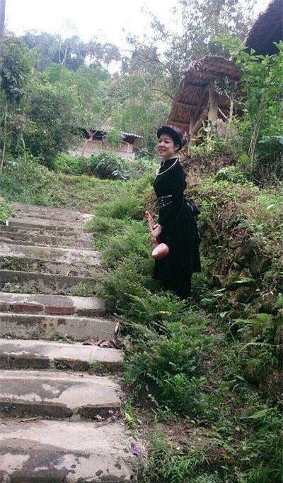 Bế Thị Băng là người dân tộc Tày đến từ Cao Bằng.