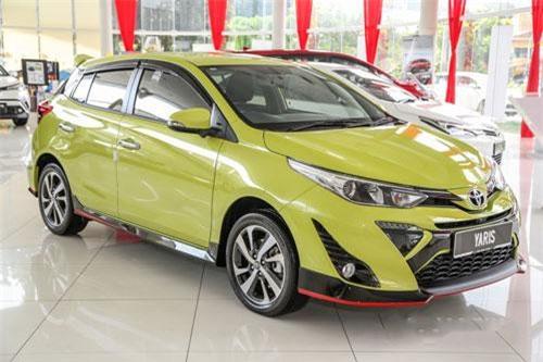 Toyota Yaris 2019 phiên bản G.