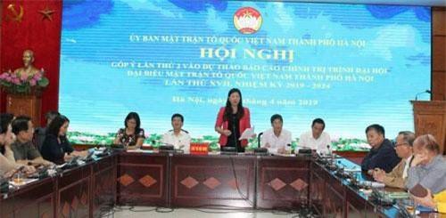 """Hà Nội: Đẩy mạnh tuyên truyền cuộc vận động """"Người Việt Nam ưu tiên dùng hàng Việt Nam"""""""