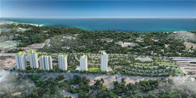 Phối cảnh dự án Mũi Né Summerland Resort ở TP Phan Thiết của chủ đầu tư Hưng Lộc Phát (ảnh: TL).
