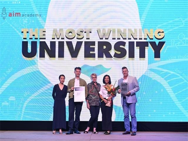 """RMIT được vinh danh """"Đại học có nhiều đội đạt giải thưởng nhất"""" tại Vietnam Young Lions 2019"""