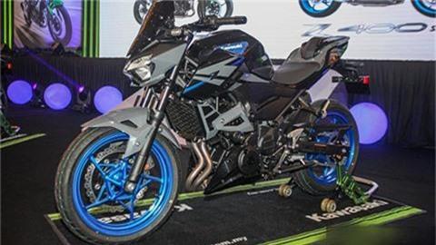 Kawasaki Z250.