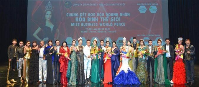 Đêm chung kết Hoa hậu Doanh nhân Hòa bình Thế giới 2019