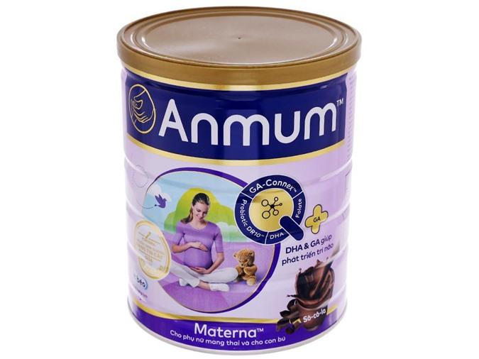 Sữa bột Anmum Materna socola
