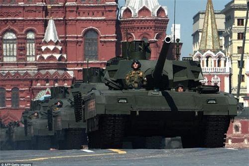 Xe tăng chiến đấu chủ lực T-14 Armata