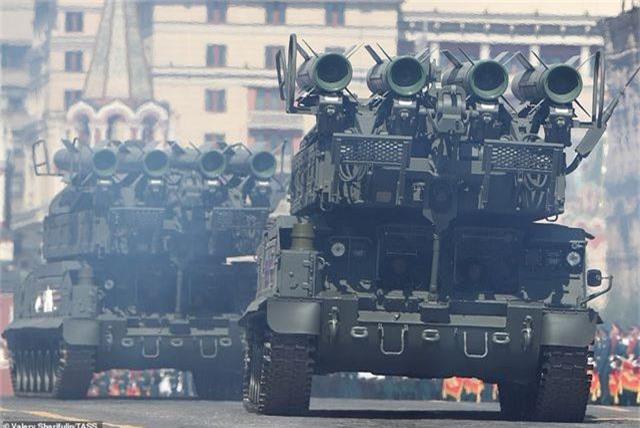 Dàn vũ khí uy lực của Nga luyện tập trước lễ duyệt binh Ngày Chiến thắng - 10