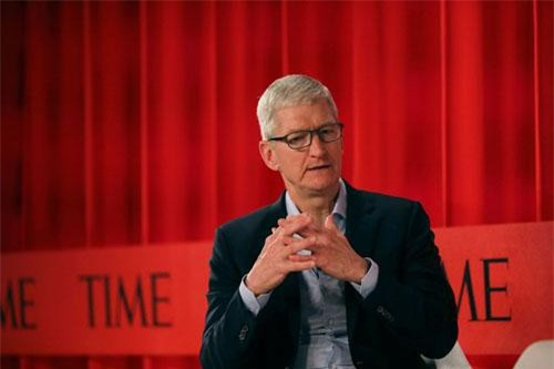 CEO Tim Cook.