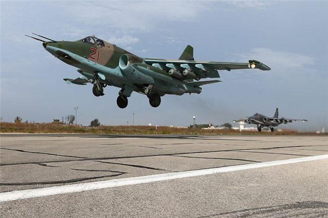 Vệ tinh đã phát hiện các hoạt động của Không quân Nga ở