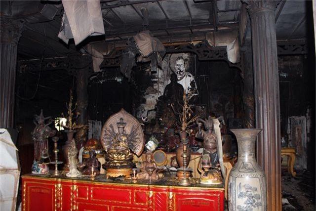 Hỏa hoạn thiêu rụi ngôi chùa 56 tuổi ở Phú Yên - 1