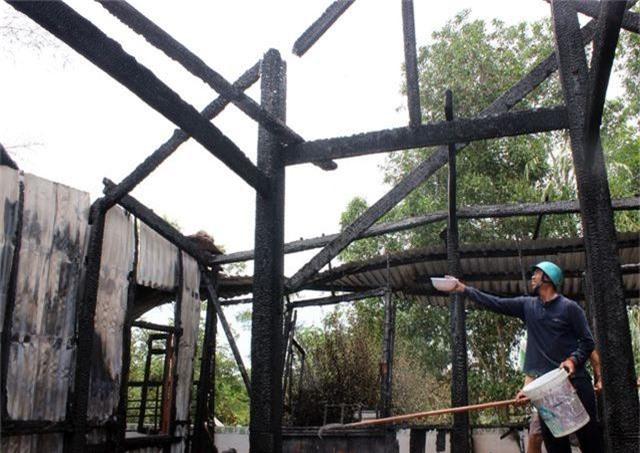Hỏa hoạn thiêu rụi ngôi chùa 56 tuổi ở Phú Yên - 5