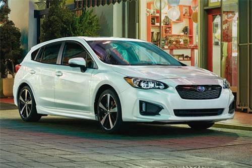 Subaru Impreza (giá khởi điểm: 18.595 USD).