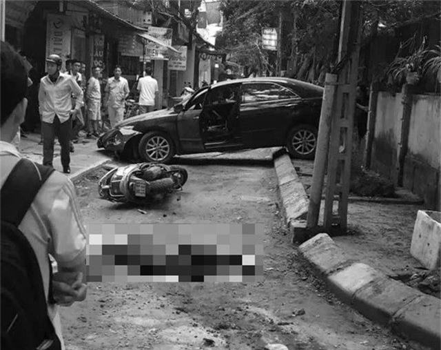 Nguyên nhân ban đầu vụ nữ tài xế Camry lùi xe chết người ở Khương Trung - 1