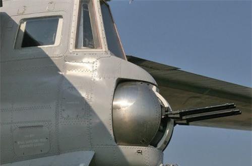 Đuôi máy bay Tu-95 vẫn duy trì một ụ pháo 23mm tự động để đối phó tiêm kích bám đuôi. Dẫu vậy, có lẽ người ta chỉ đặt cho có vì thực ra ở thời điểm hiện tại ụ pháo đuôi không có tác dụng mấy.