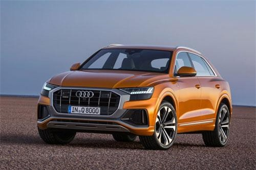 Audi Q8.
