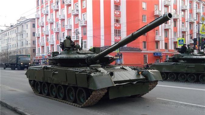Hai quan Danh bo duoc trang bi T-80BVM, Luc quan Nga phat them-Hinh-2