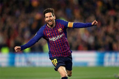 1. Lionel Messi (Argentina).
