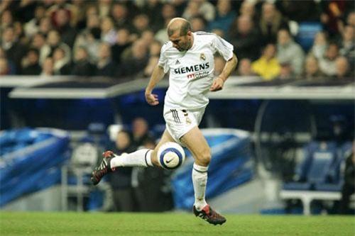 3. Zinedine Zidane (Pháp).