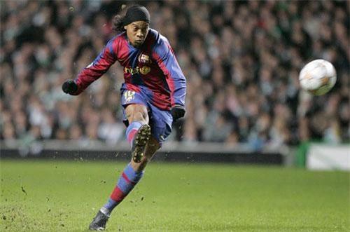 5. Ronaldinho (Brazil).