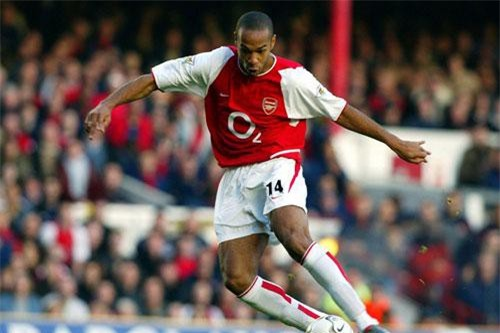 6. Thierry Henry (Pháp).