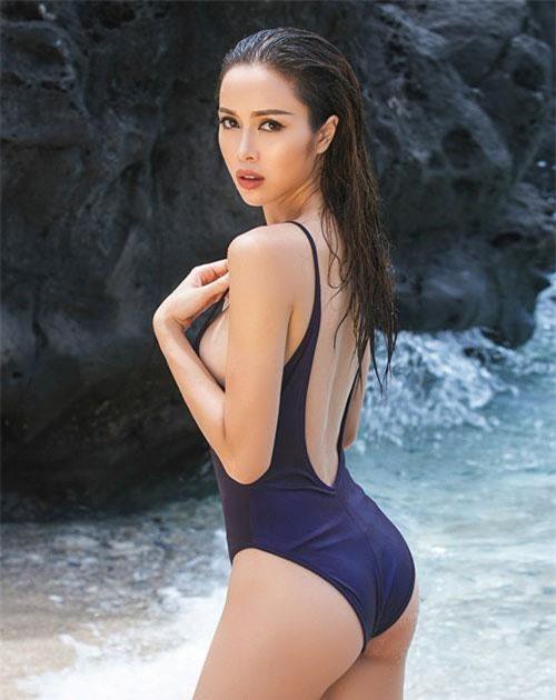 Tới năm 2017, người đẹp tham gia phim Lôi báo.