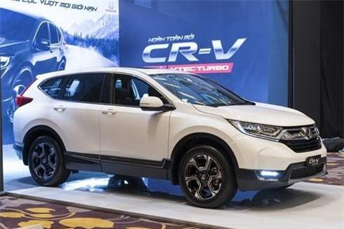 Giảm giá cả trăm triệu đồng, Honda CR-V vẫn sụt giảm quá nửa doanh số