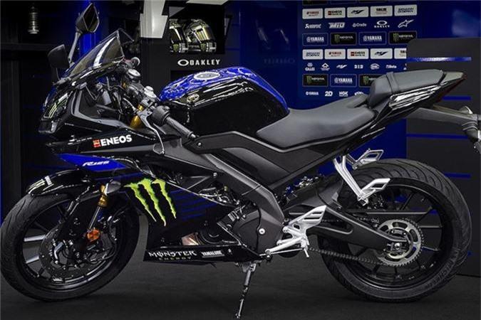 Yamaha R125 Monster Energy.