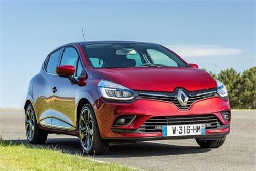 1. Renault Clio (doanh số: 10.550 chiếc).