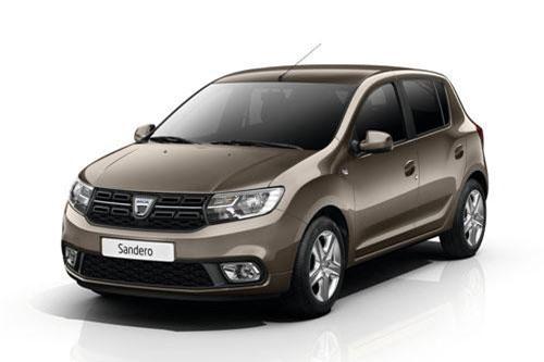 4. Dacia Sandero (doanh số: 7.165 chiếc).