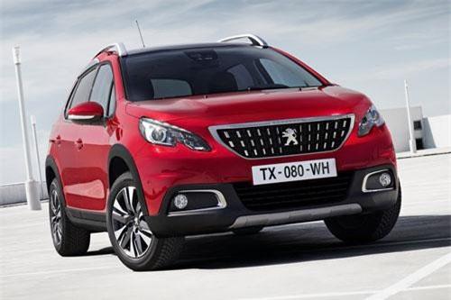 5. Peugeot 2008 (doanh số: 6.560 chiếc).