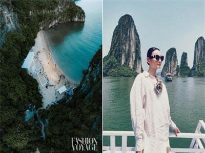 """Có gì ở đảo Bàn Chân hoang sơ giữa Vịnh Hạ Long, nơi vừa diễn ra fashion show đình đám bị loạt models """"bóc phốt""""?"""