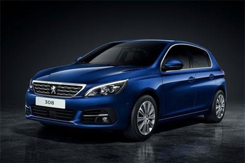 7. Peugeot 308 (doanh số: 5.206 chiếc).
