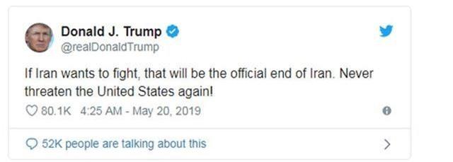 Vùng Vịnh nóng lên từng ngày: Ông Trump lại dọa Iran - 1