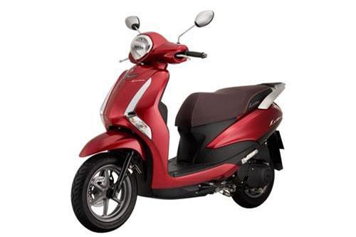 Yamaha Latte màu đỏ.