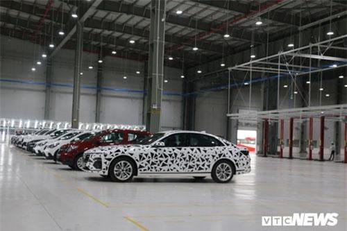 Toàn cảnh nhà máy sản xuất ô tô VinFast trước thời khắc lịch sử