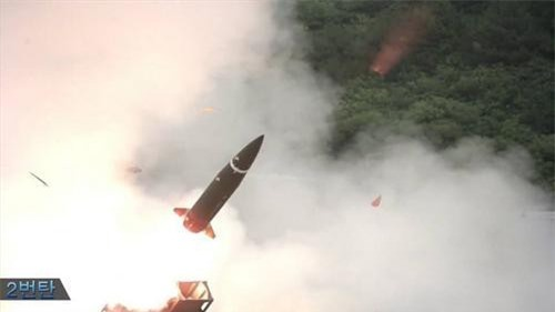Bắn thử nghiệm tên lửa đạn đạo tầm ngắn KTSSM
