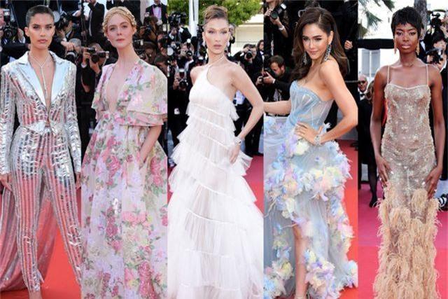 Khi người đẹp bị chê vì mặc hở hang tại LHP Cannes - 15