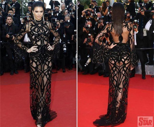 Khi người đẹp bị chê vì mặc hở hang tại LHP Cannes - 3