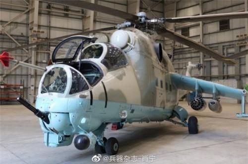 Tuy vậy, căn cứ vào đặc điểm bên ngoài của chiếc Mi-24 mà Ấn Độ mua từ Belarus rồi tặng cho Afghanistan thì nhiều khả năng đây là thế hệ Mi-24D – phiên bản phổ biến của dòng Mi-24. Hoặc cũng có thể là phiên bản phụ của dòng Mi-24D.