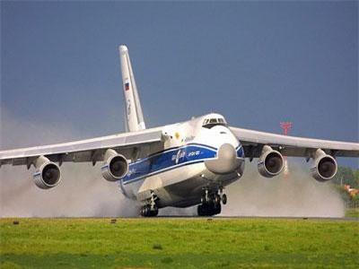"""Soi ứng viên """"tống tiễn"""" siêu vận tải cơ An-124 về vườn"""
