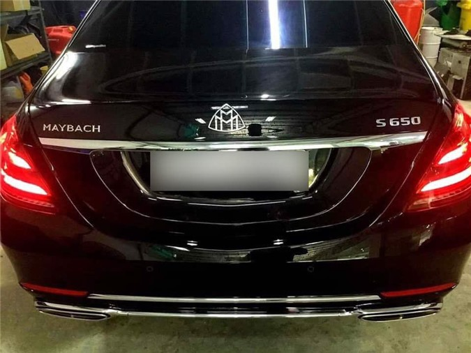 Chiếc xe Mercedes-Maybach S650 4Matic 2019