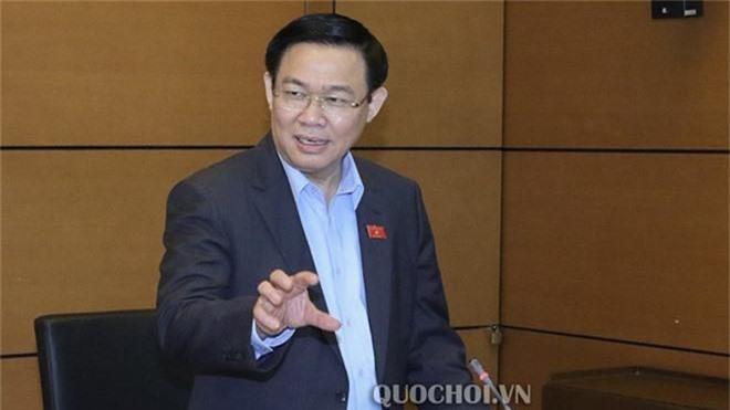 Phó thủ tướng Vương Đình Huệ cho biết sẽ đề nghị kiểm toán toàn bộ báo cáo tài chính EVN và thông tin công khai, minh bạch. Ảnh:Quochoi.vn