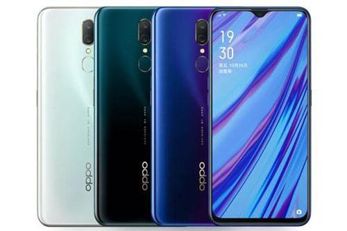 Oppo A9 có 3 tùy chọn màu sắc gồm Mica Green, Ice Jade White, Fluorite Purple. Giá bán của máy ở Trung Quốc là 1.799 Nhân dân tệ (tương đương 6,21 triệu đồng).