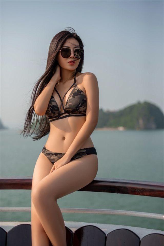 Lan Cave Thanh Hương khoe body nóng bỏng, siêu vòng 3 với bikini - 10