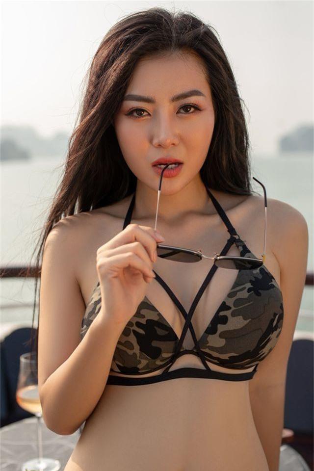 Lan Cave Thanh Hương khoe body nóng bỏng, siêu vòng 3 với bikini - 2