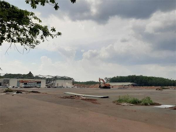 Chưa giải phóng xong mặt bằng, dự án Khu đô thị thương mại chợ Nhật Huy đã được bán gần xong (Ảnh: VQ)